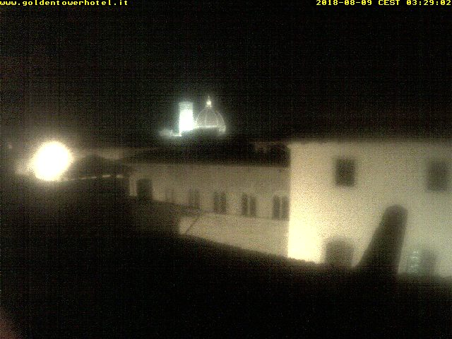 Webcam Firenze - Hotel Golden Tower